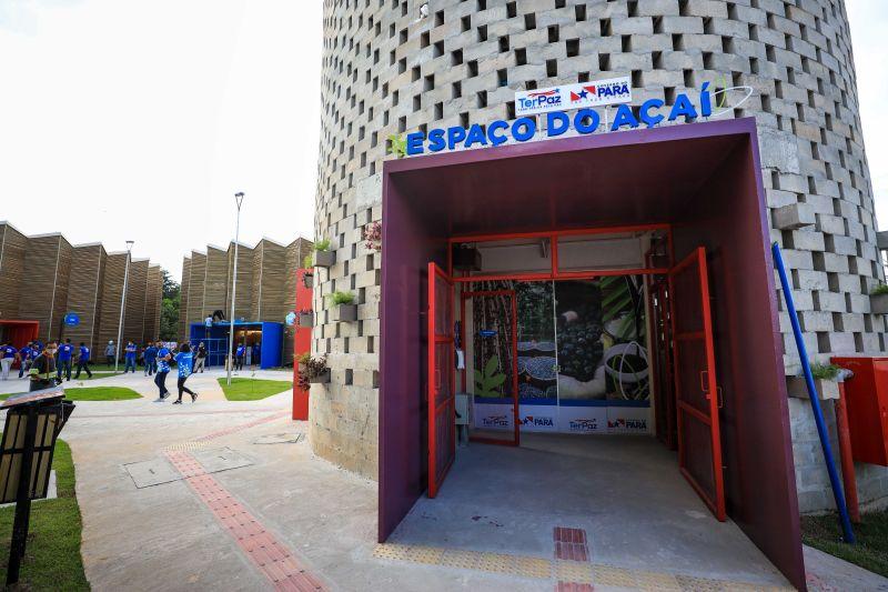 Espaço do açaí é destaque no Complexo Comunitário Usina da Paz inaugurado em Ananindeua